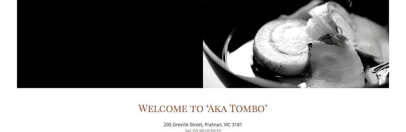 Aka TomboさんのWEBサイトできました!